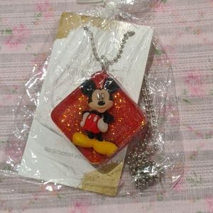 Mickey Mouse Disney Resin Necklace